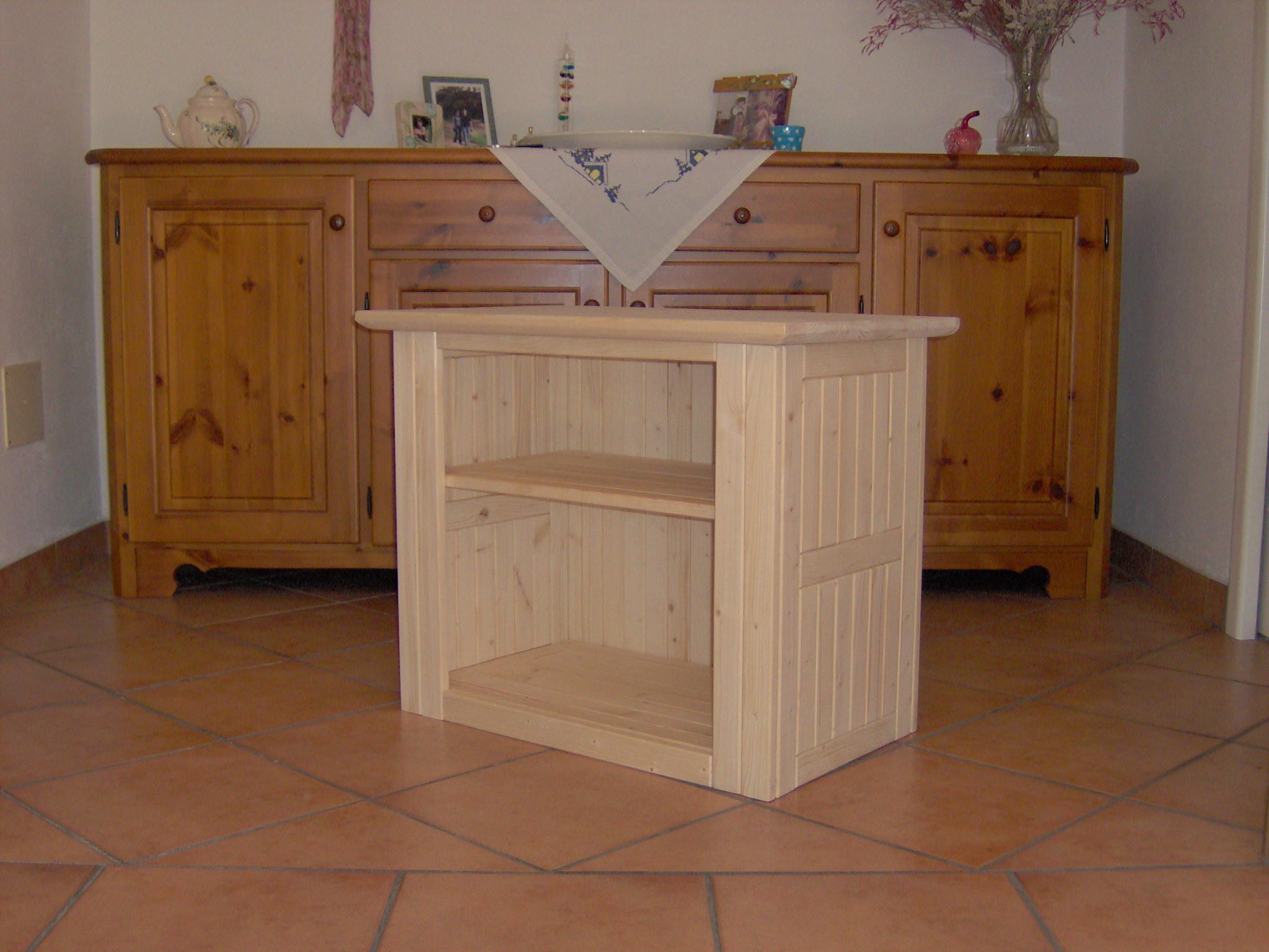 Carrello porta tv oggetti in legno fai da te with oggetti - Costruire mobili in legno fai da te ...