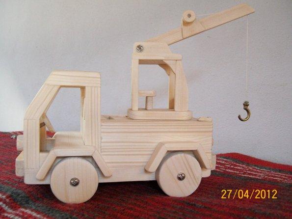 Oggetti in legno fai da te (by Silvano) Giocattoli in legno camion ...